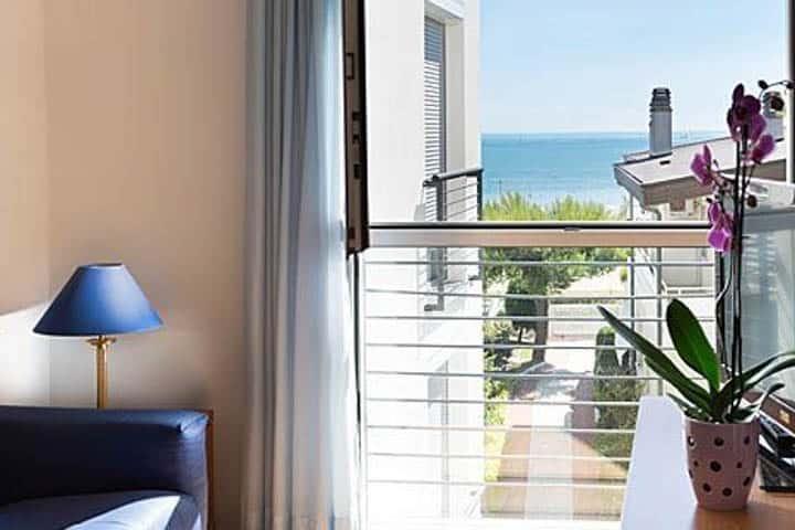 Lignano Hotel Balkon