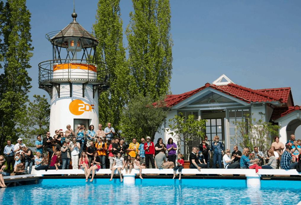 ZDF Fernsehgartgen Mainz Pool