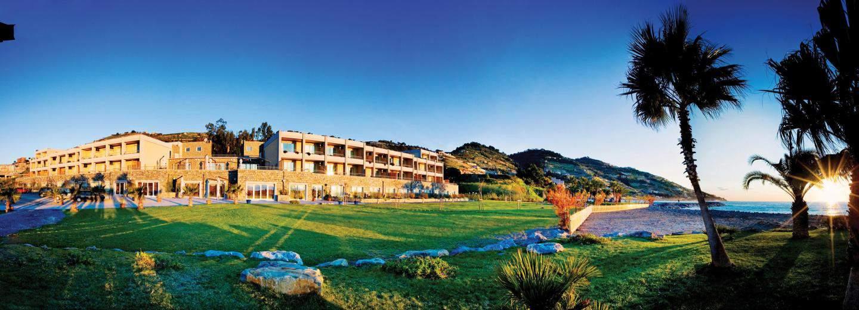 Ligurien Urlaub Hotelanlage