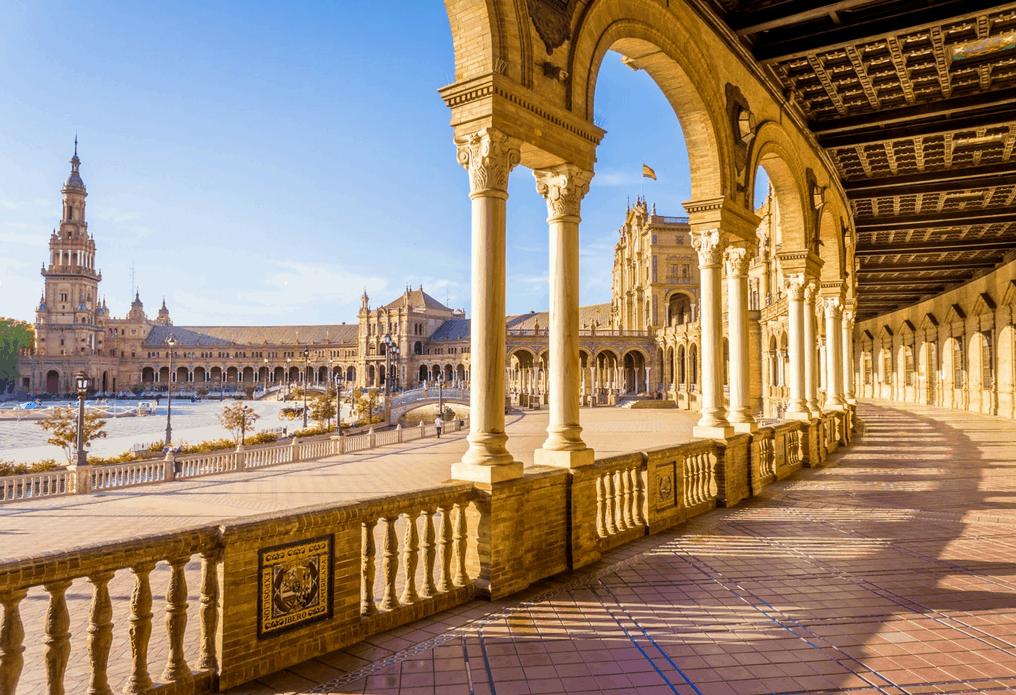 Andalusien Rundreise Sevilla Platz