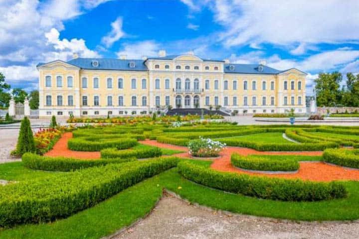Baltikum Rundreise Gebäude