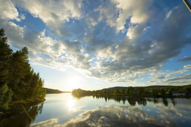 Lappland Reisen See