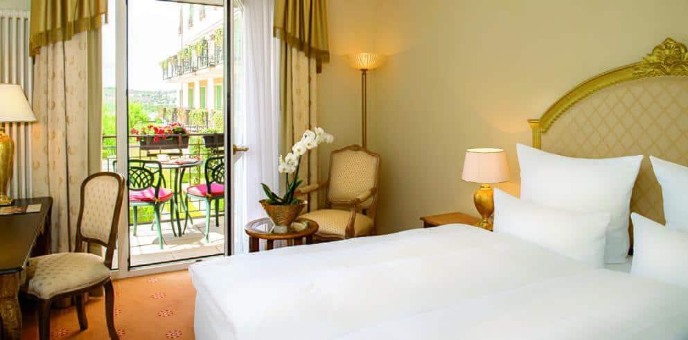 Saarland Hotel Schloss Berg Zimmer