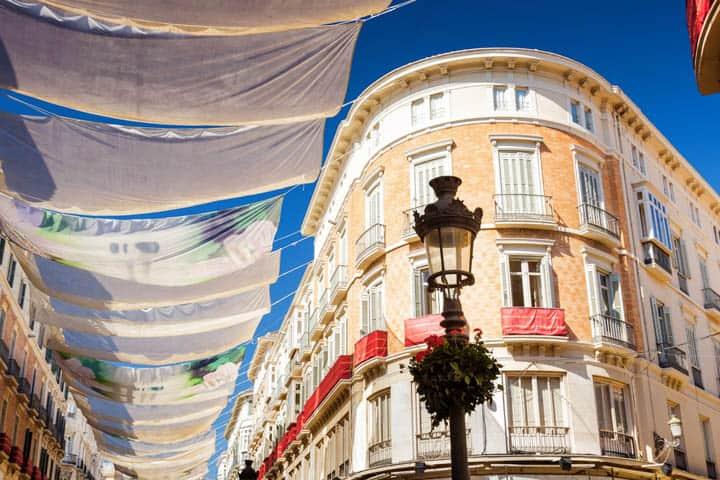 Malaga Urlaub Stadtzentrum