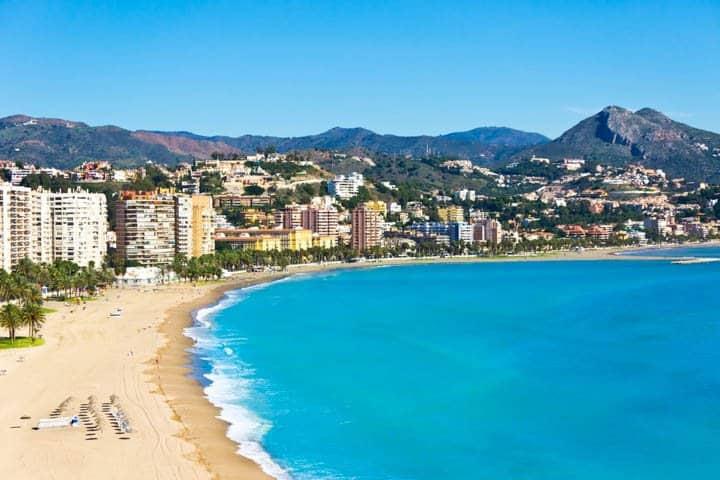 Malaga Urlaub Strand