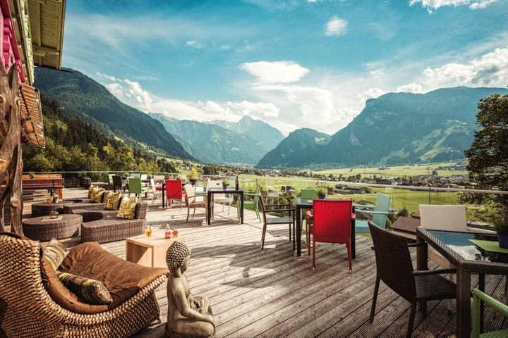 Zillertal Hotel Außenbereich