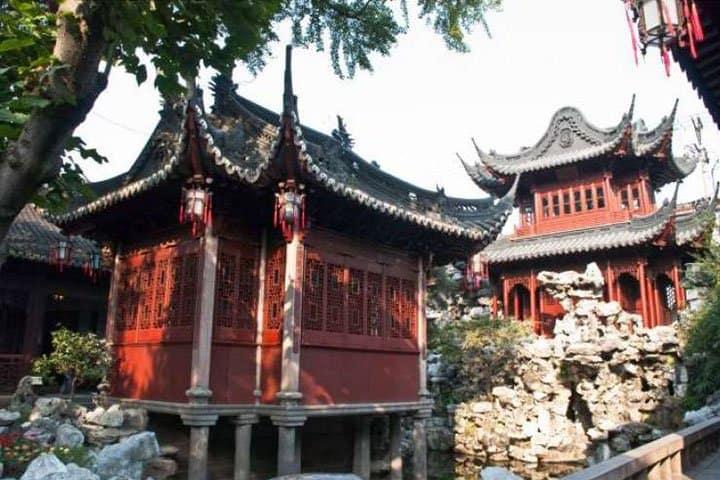 China Rundreise Tempel
