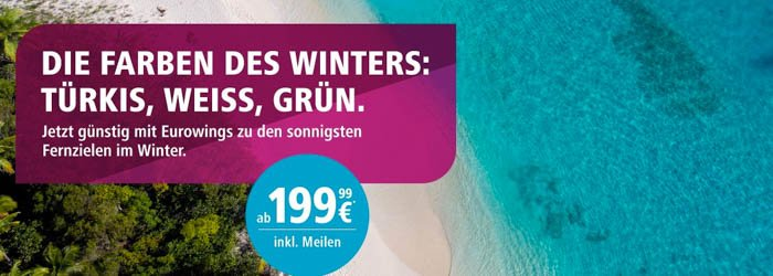 Eurowings Flugaktion