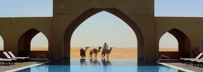 Tilal Liwa Hotel – Urlaub in der Wüste