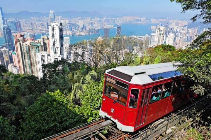 Hong Kong Urlaub Zug