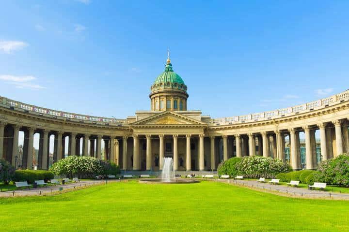 St. Petersburg Reise Stadt