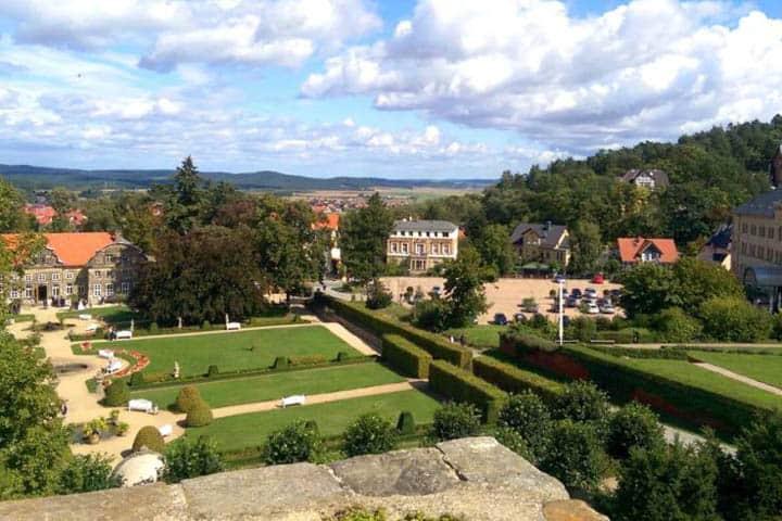 Schlosshotel Blankenburg Gartrn
