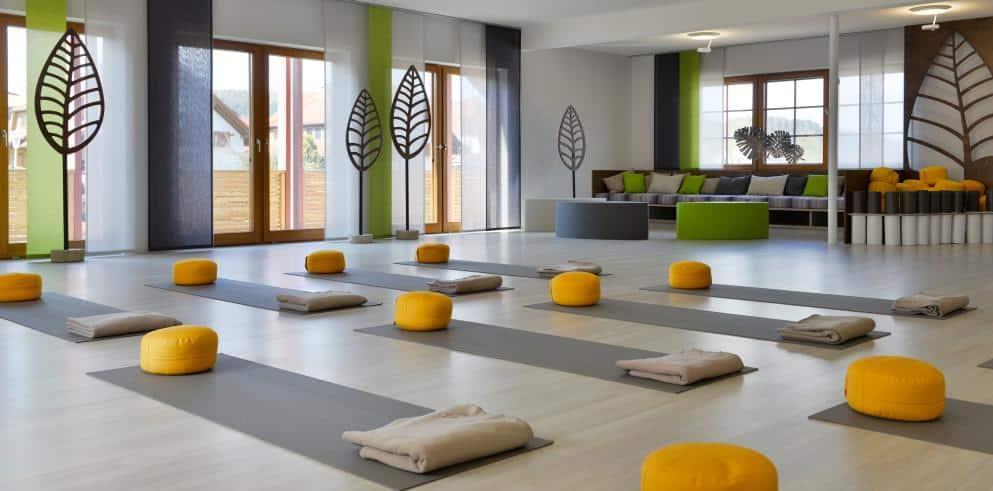 Hotel Freund Yogaraum