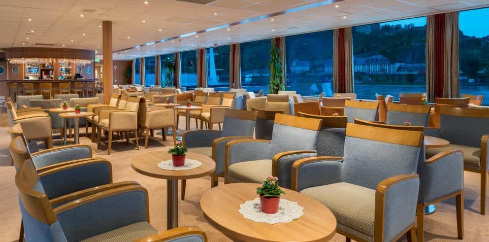 Rhein Mosel Kreuzfahrt Restaurant