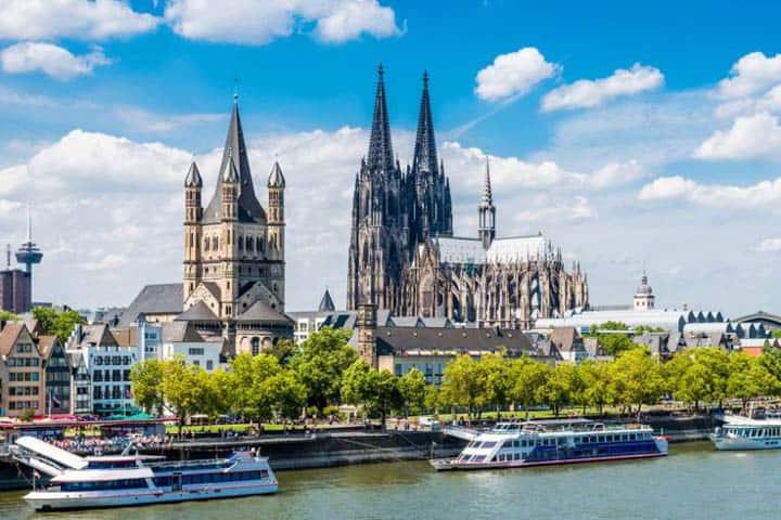Rhein Mosel Kreuzfahrt Köln