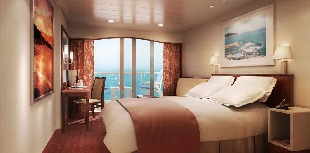 Mittelmeer Kreuzfahrt Zimmer