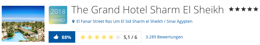 Urlaub Ostern Sharm El Sheikh