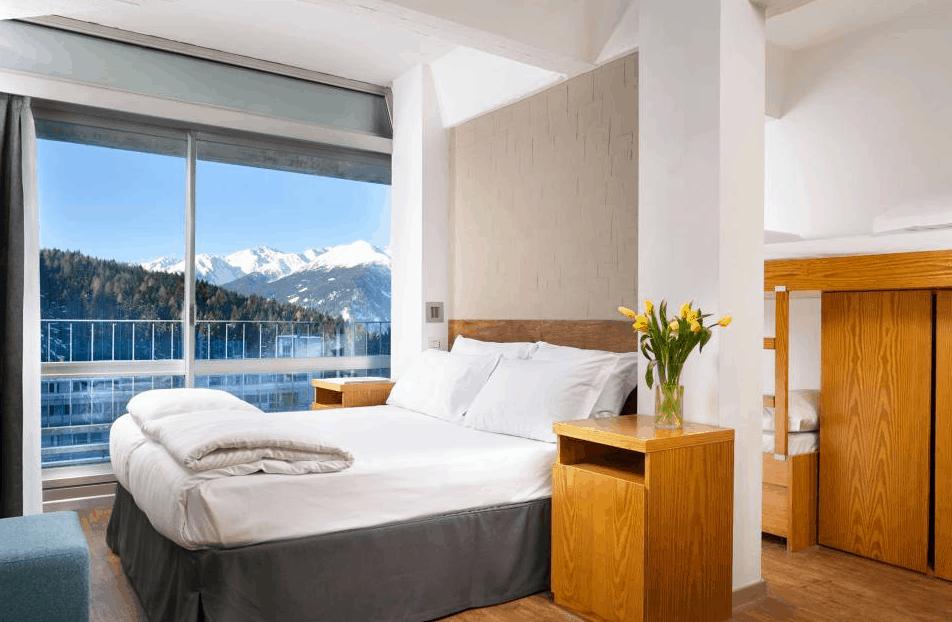 Südtirol Skiurlaub Zimmer