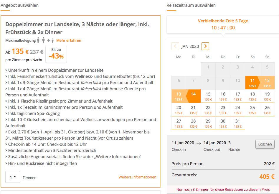 SEETELHOTEL Ahlbecker Hof Angebot