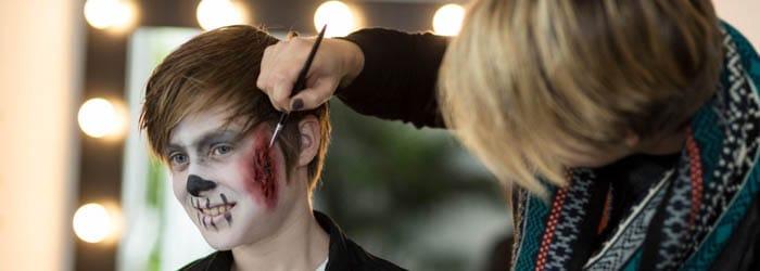Bavaria Filmstudios zu Halloween