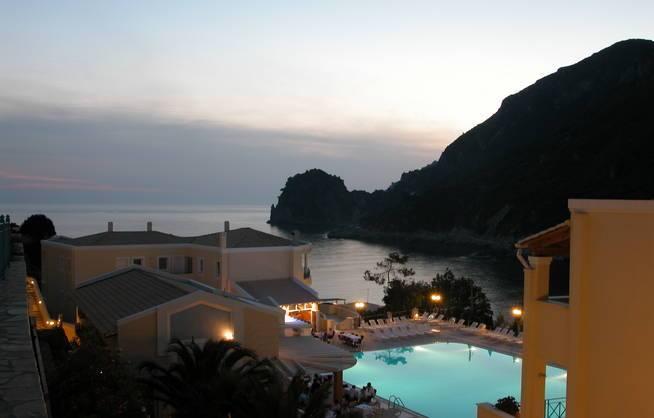 Korfu Urlaub Hotelanlage