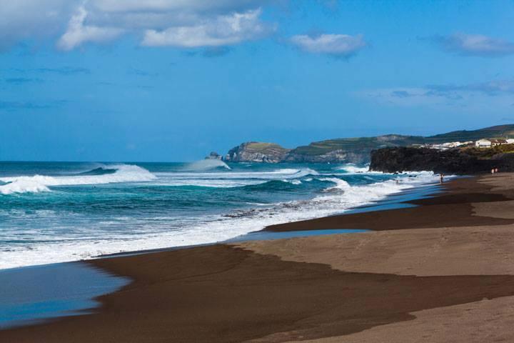 Azoren Urlaub Strand