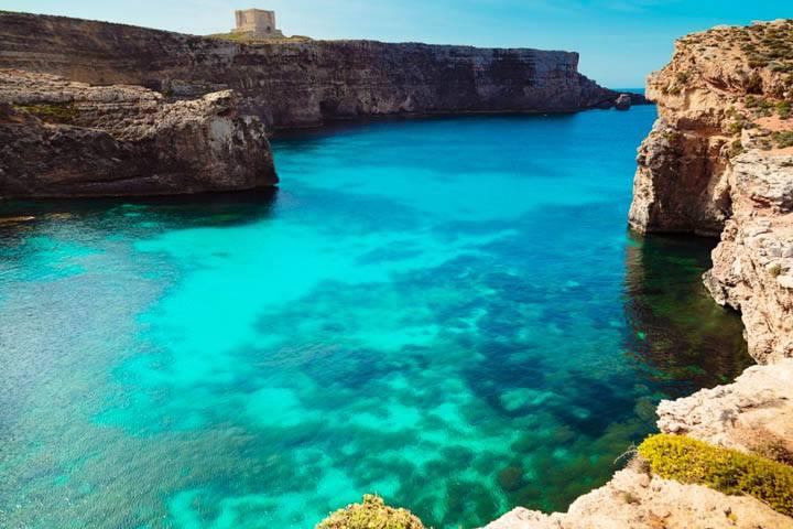 Malta Urlaub Meer