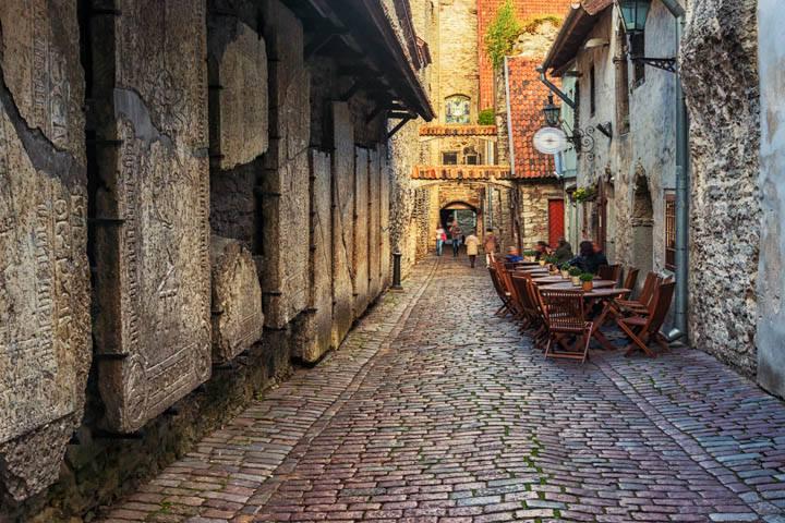 Tallinn Städtereise Gassen