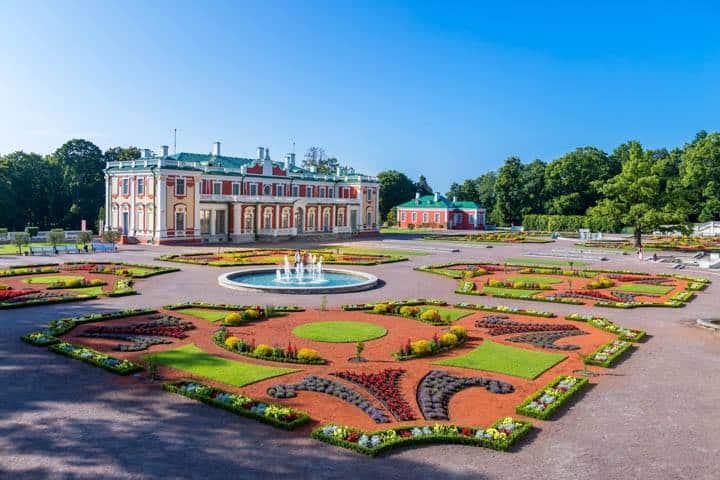 Tallin Städtereise Schloss