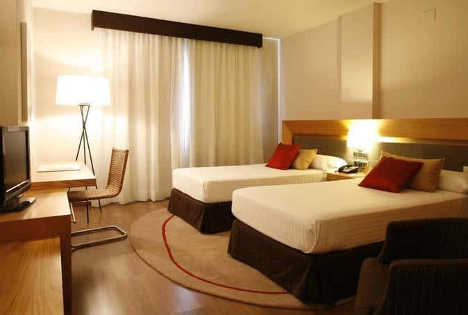 Malaga Hotel Zimmer