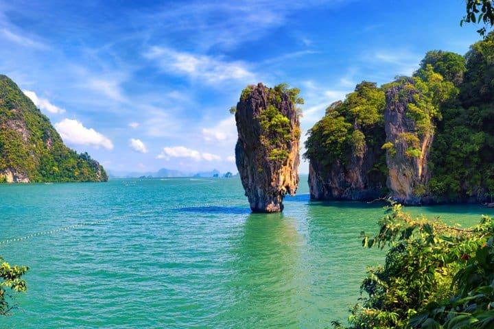 Phuket Urlaub Felsen