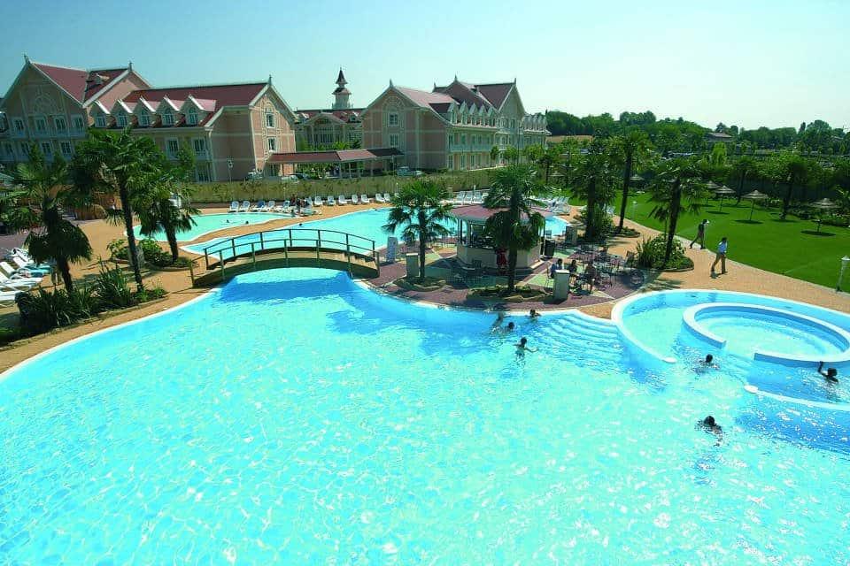 Gardaland Hotel Poolanlage