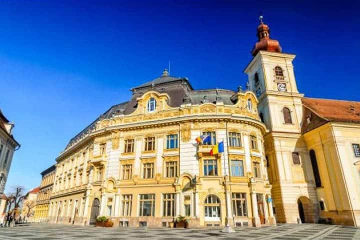 Rumänien Rundreise Altstadt