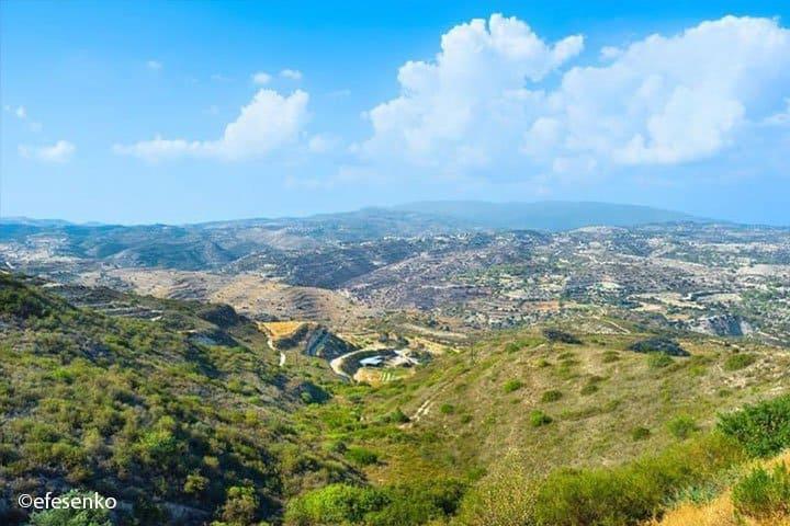 Zypern Rundreise Landschaft