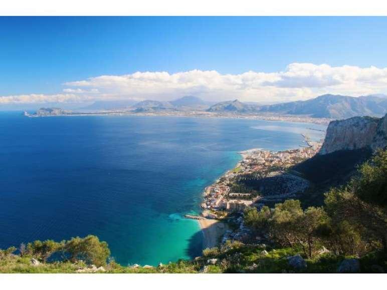 Szilien Rundreise Küste