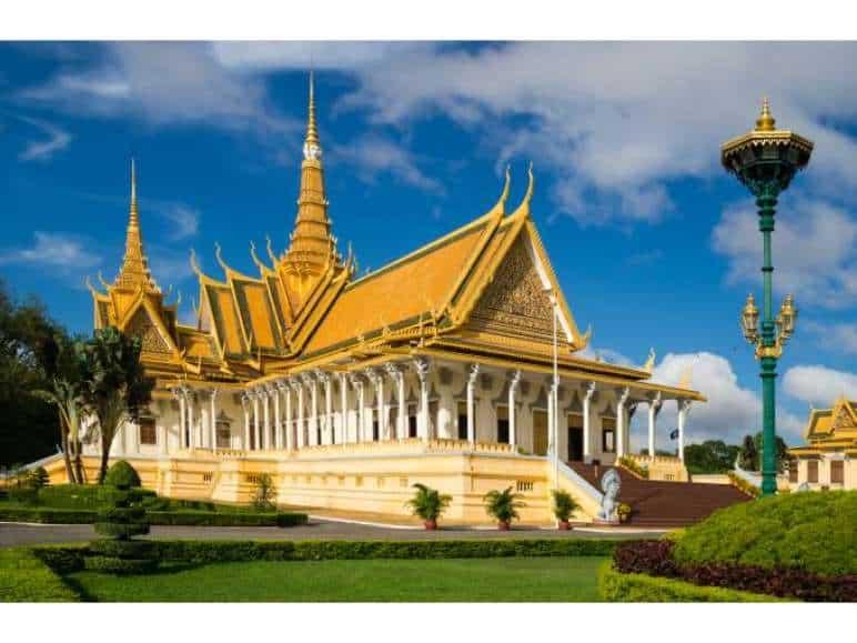 Kambodscha Urlaub Tempel