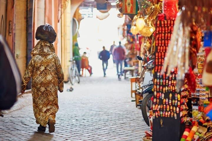Marrakesch Urlaub Souk