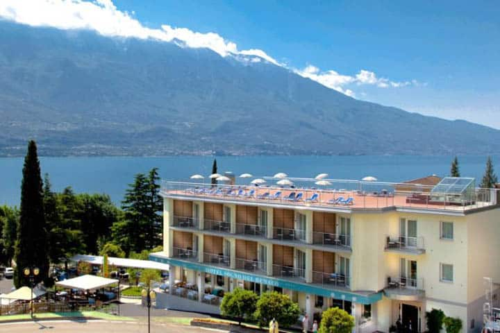 Gardasee Hotel von Aussen