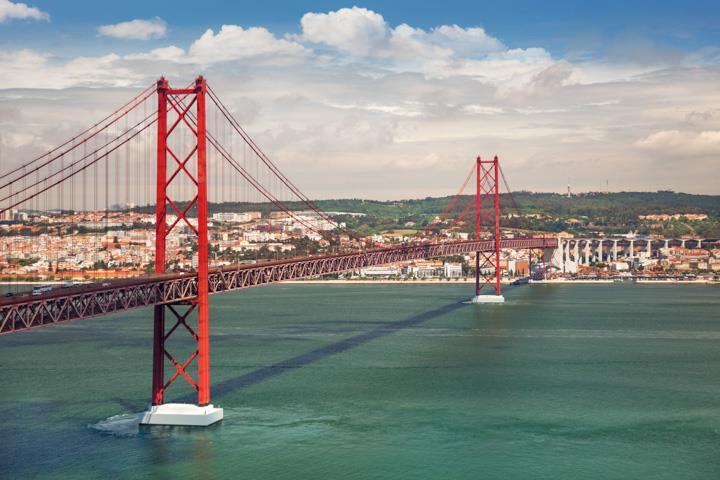 Städtereise Lissabon Brücke