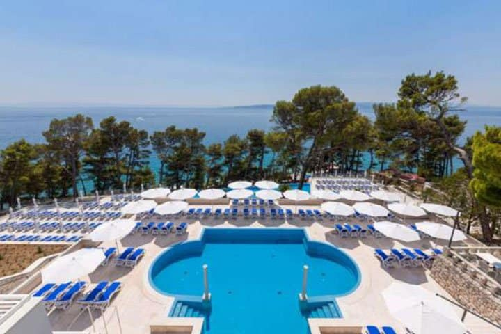Brela Hotel Pool