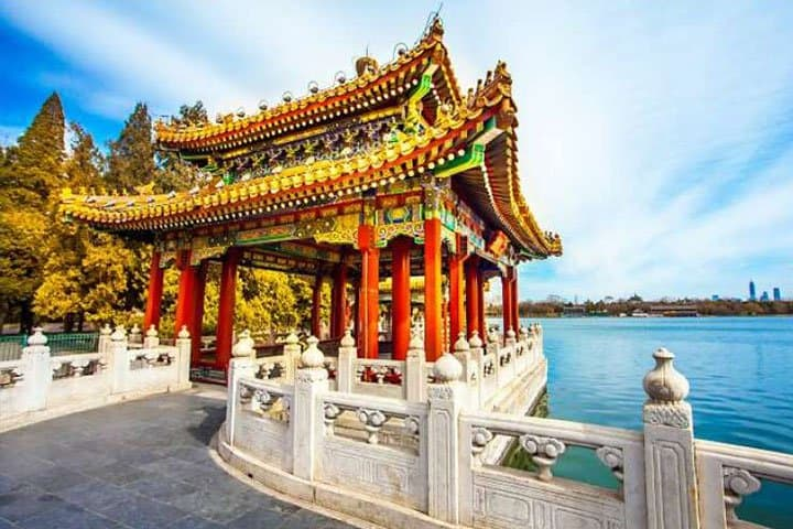 China Reise Tempel