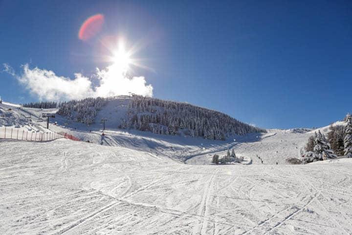 Südtirol Urlaub Piste