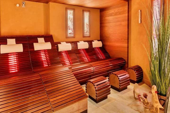 5* Romantischer Winkel Spa Resort Sauna