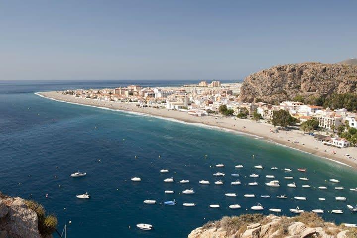 Golf von Almeria Urlaub Strand