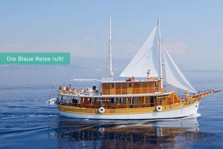 Blaue Reise Kroatien Segler