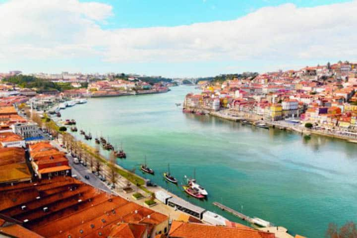 Porto Urlaub Wasser
