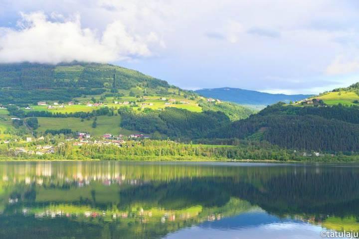 Norwegen Rundreise See