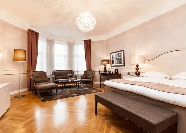 Malmö Städtereise Hotelzimmer
