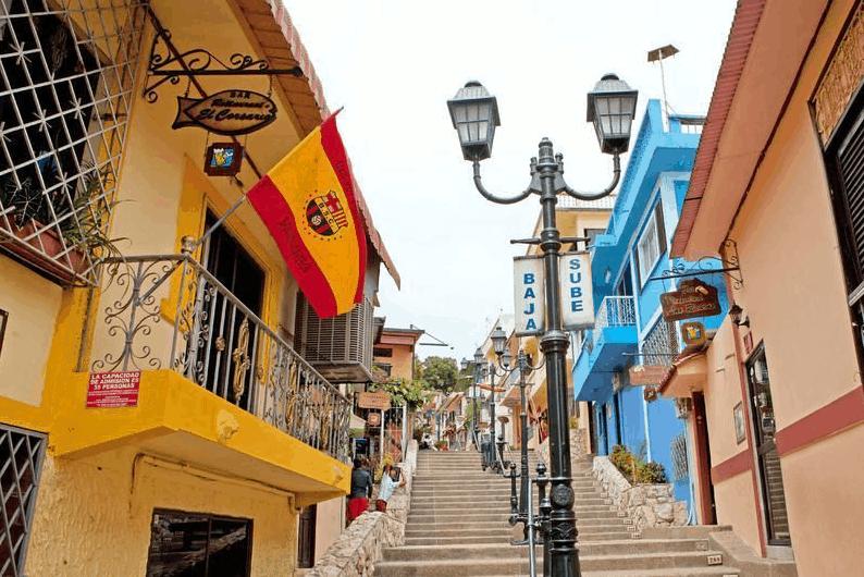 Ecuador Rundreise Stadt