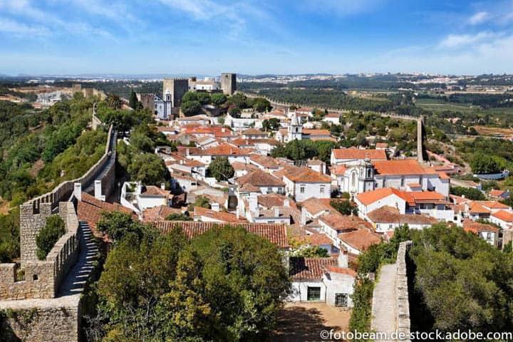 Algarve Rundreise Stadt